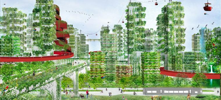 Die ?Forest City Shijiazhuang? ist ein wahres Utopia