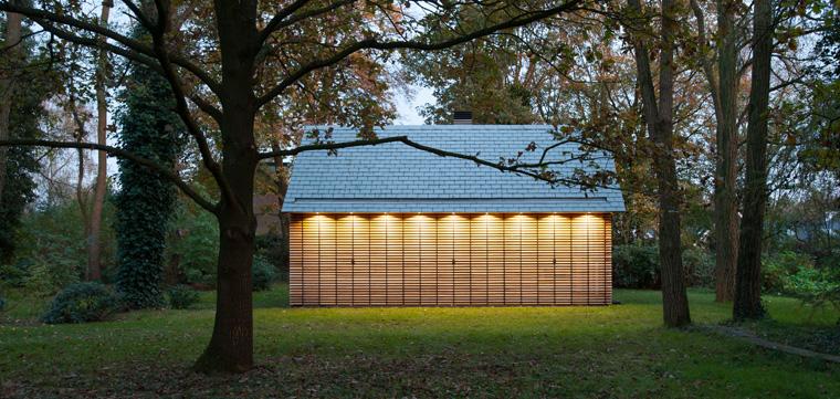 Wer denkt bei ?Gartenhaus? nicht an eine kleine Hütte im Grünen, die vollgestopft ist mit Gartenscheren, Blumentöpfen, einem Rasenmäher und Dünger?