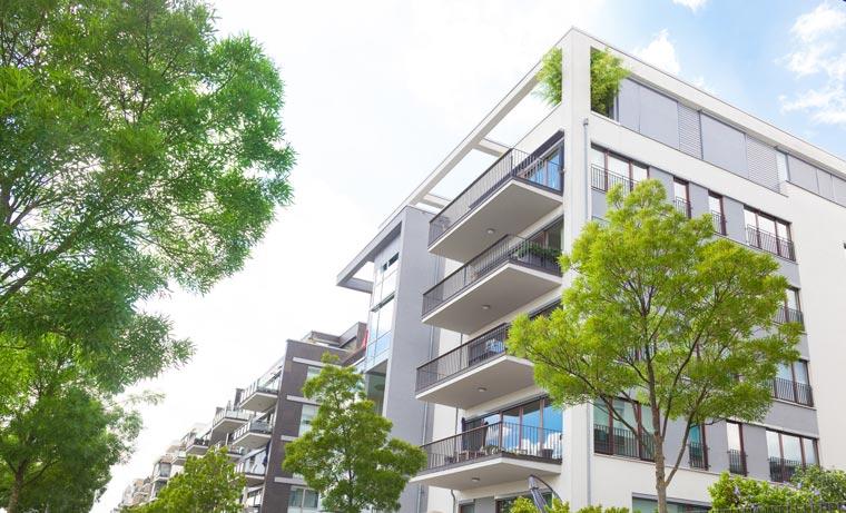 Green Building bleibt auch in Zukunft ein starker Trend auf dem Bau- und Immobiliensektor.