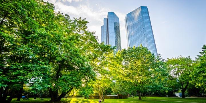 Möglichkeiten der grünen Stadtentwicklung