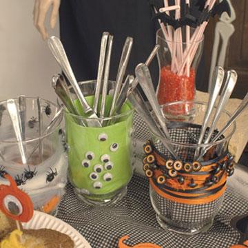 Kreative Halloweendekorationen