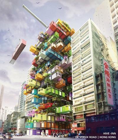 Perfekt in die Stadt integriert. © OVA Studio