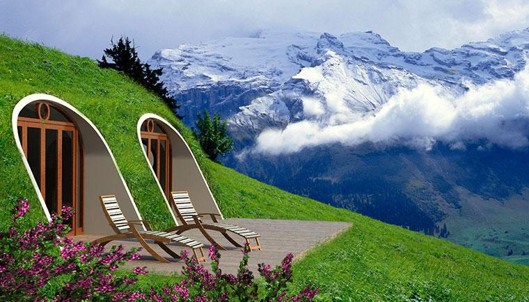 Hobbit Höhlen als Eigenheim
