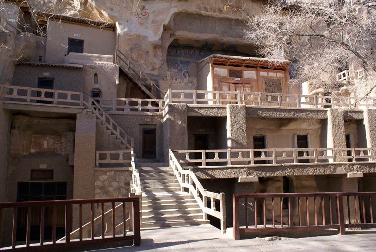 Höhlenhäuser in China