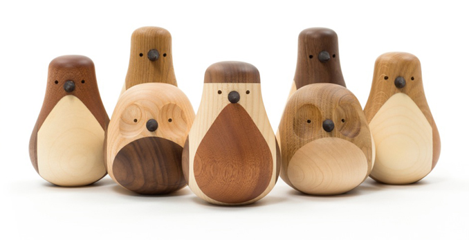 Ostern Deko Holzvögel