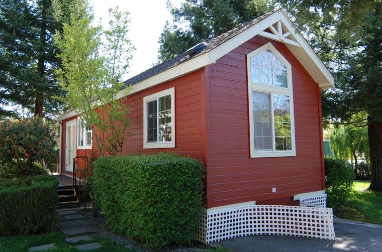 Kleines Haus Großes Glück. Minimalistisch Leben