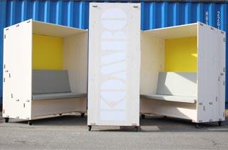 Neue innovative Box für ein nachhaltiges Büro