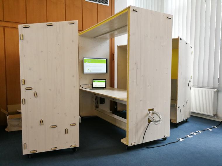 KOMBO Box - Nachhaltige Materialien und praktische Konstruktion