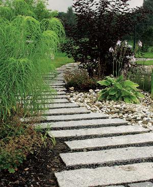 Nachhaltige Natursteine im Garten
