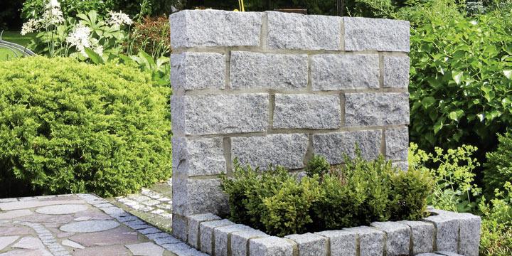 Fair produzierte Natursteine in Haus und Garten
