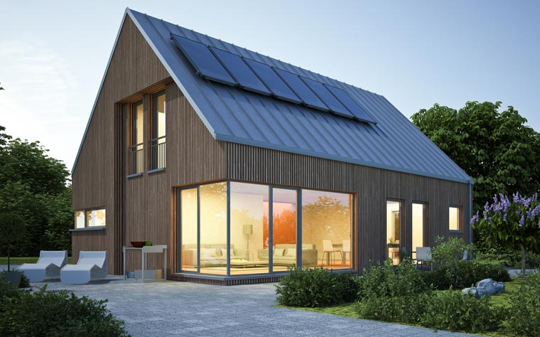 Modernes Wohnen und Nachhaltigkeit schließen sich keineswegs aus ? sie haben allerdings ihren Preis.