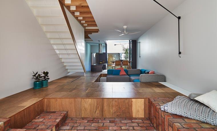 Ein nachhaltiges Haus, das nicht nur viel Platz zum Spielen, Arbeiten und Leben bietet.