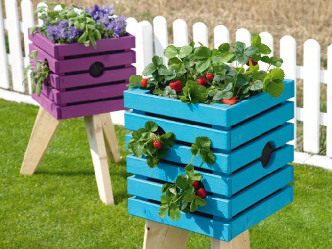 Hochbeet Selber Bauen Aus Holz Fur Balkon Und Garten