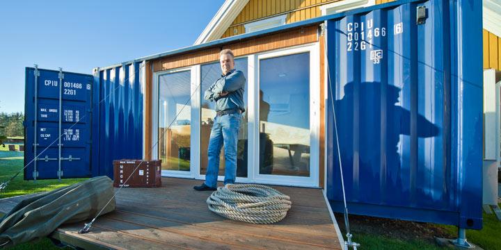 Pocketcontainer: Wohnen im Containerhaus