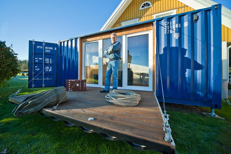 Pocketcontainer Wohnen im Containerhaus ein autarkes Mikrohaus