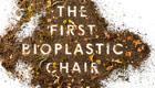 Bioplastik Stuhl, schön und biologisch abbaubar