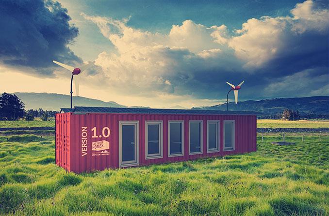 Nachhaltig und flexibel wohnen im Sustainer