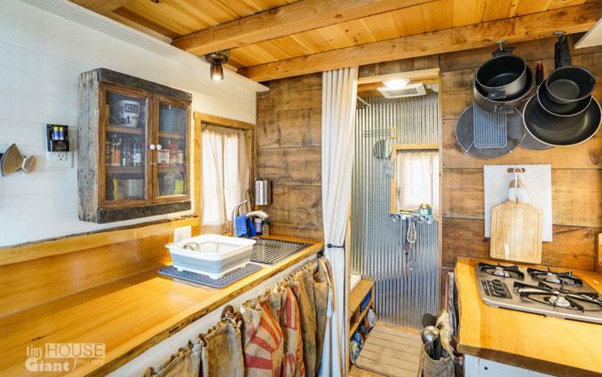 Die Küche im Tiny House