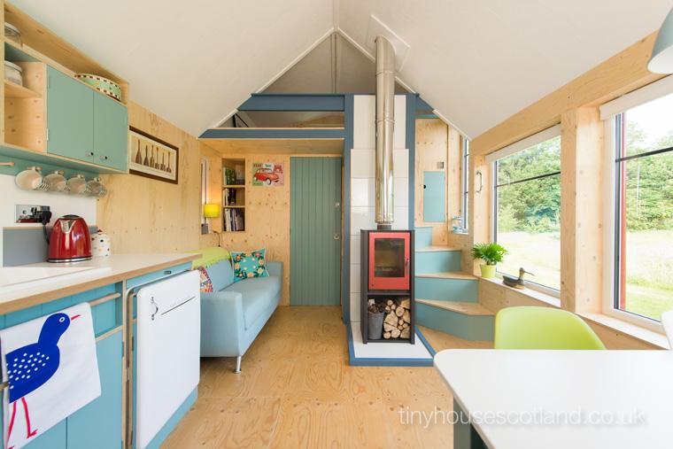 Tiny House in Schottland. Das große Glück auf kleinstem Raum.