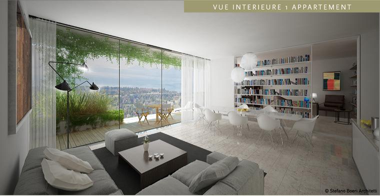 Modernes Wohnen ist grün ? auch in der Stadt