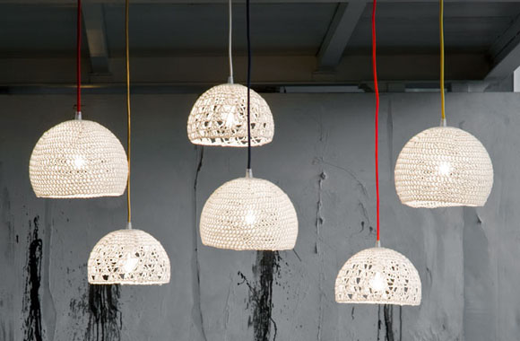 Lampen aus Wolle