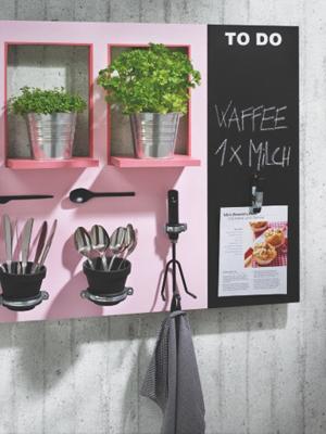 Wandboard selber bauen  Regale selber bauen tolles Küchenwandboar zum nachbauen
