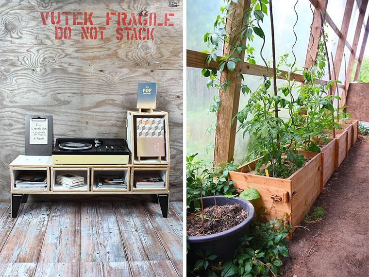 Nachhaltige Einrichtung für Haus und Garten