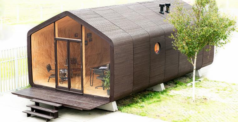 Ein Unternehmen aus den Niederlanden verwendet für seine umweltfreundlichen Häuser ungewöhnliches und doch geniales Baumaterial: Pappe. Aber ist das wirklich stabil