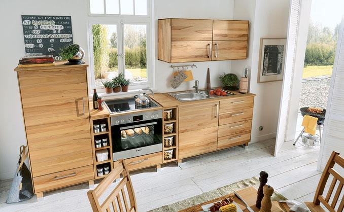 Holz Küchen für ein gesundes und ökologisches Wohnen