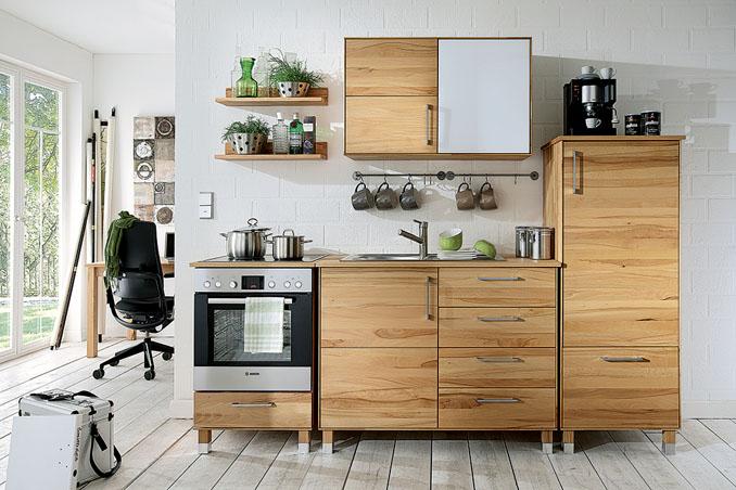 Küchen aus Massivholz im ökologischen Sortiment von allnatura