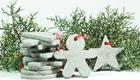 Nachhaltig haltbar: Beton-Baumschmuck