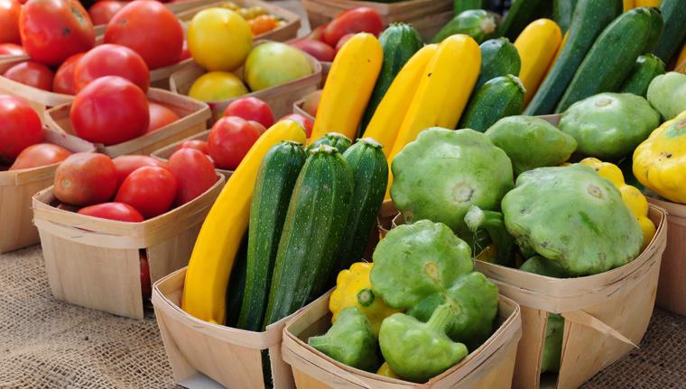 Zucchini werden zunächst in Scheiben geschnitten und blanchiert. Auch dieses Gemüse wird erst auf einem Backpapier gefroren