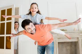 Sicherheit und Stabilität mit dem Eigenheim