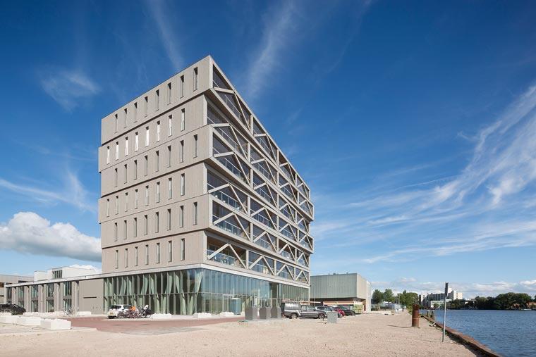 Größtes Holzhaus der Niederlande