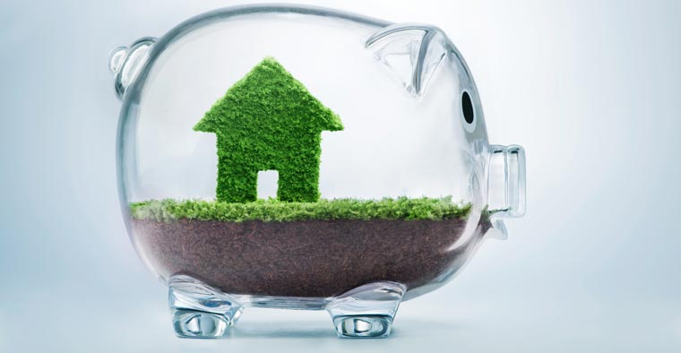 ?Grünes Bauen? ist allein schon durch die höheren Anforderungen an die Energieeffizienz mit Mehrkosten verbunden ? Fördermittel können jedoch helfen, diese auszugleichen.
