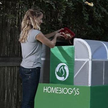 Gas aus Bio-Müll , so einfach  geht`s zuhause