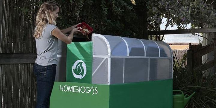 So stellen Sie zuhause Gas aus Bio-Müll her