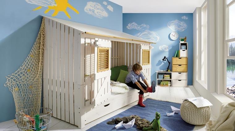 Spiel- und Schlafplatz für kleine Abenteurer