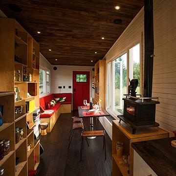 tiny house leben auf kleinstem raum minimalismus ist der