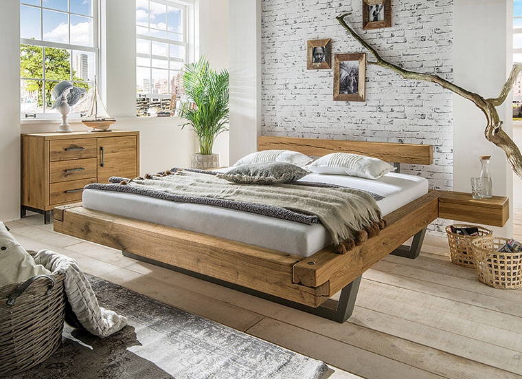 rustikale m bel schlafzimmer einrichten nachhaltige eco naturm bel design. Black Bedroom Furniture Sets. Home Design Ideas