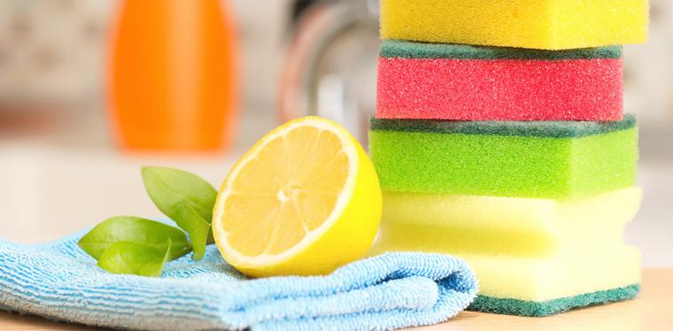 Menschen putzen nicht erst, seit in Chemielabors künstliche Reinigungsmittel zusammengemischt werden
