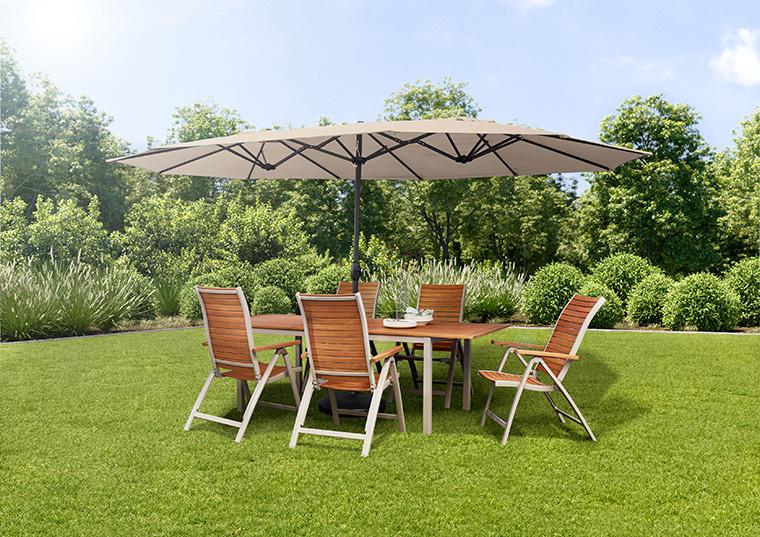 Verschöner deinen Garten mit schicken Holzmöbeln von Tchibo