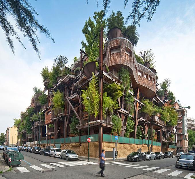 Urban Gardening Stadthaus