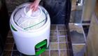 Saubere Wäsche per Pedalantrieb