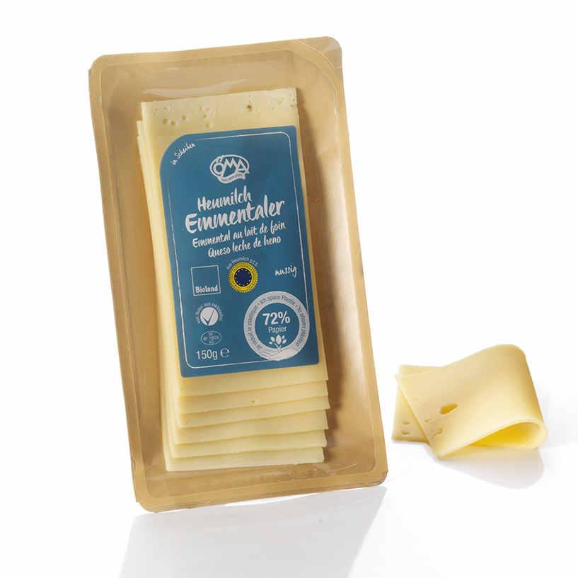 Nachhaltige Käseverpackung