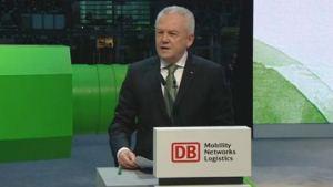 Deutsche Bahn wird grün