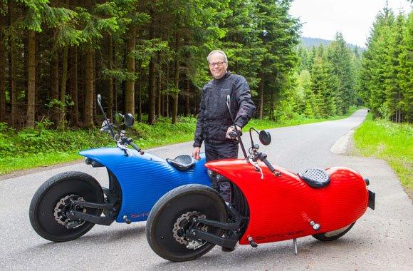 Biiista: Der neue Zweirad-Futurismus