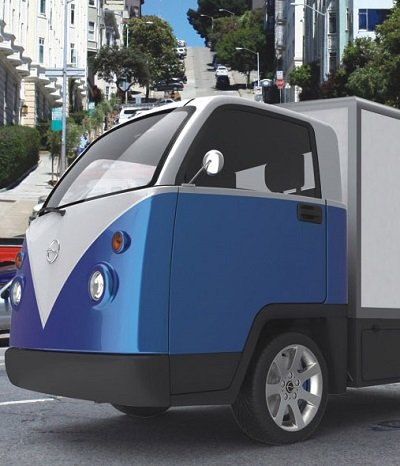 Elektro-Transporter im Bully-Design