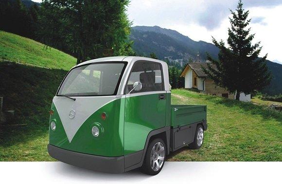 Bully als Elektroauto: Nostalgie pur mit elektrischem Transporter von Cenntro Motors