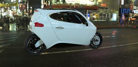 Lit Motors C-1: Neues Fahrzeugkonzept, zwischen Auto und Motorrad